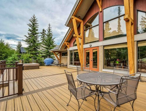 A Canmore Landscape for Built for Entertaining