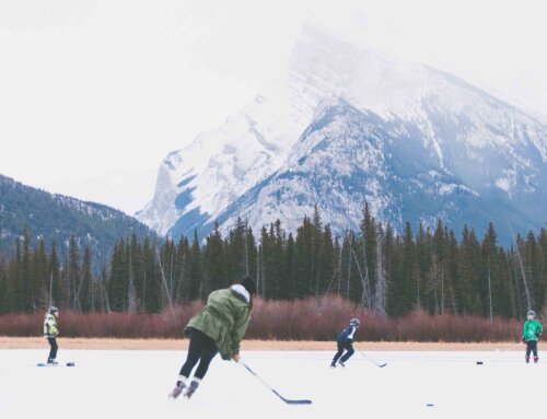 Building Your Own Outdoor Hockey Rink | Canmore